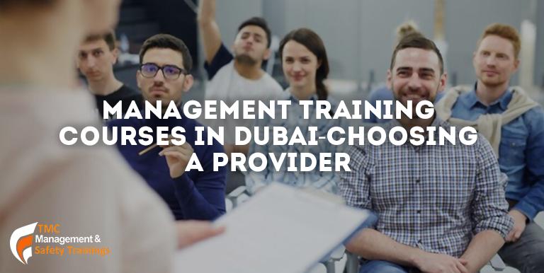 Management Training Courses in Dubai-Choosing a Provider